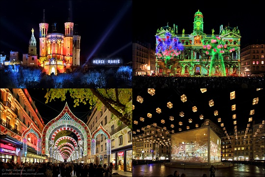фестиваль світла в ліоні