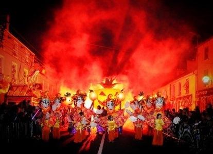 ірландія парад геловін
