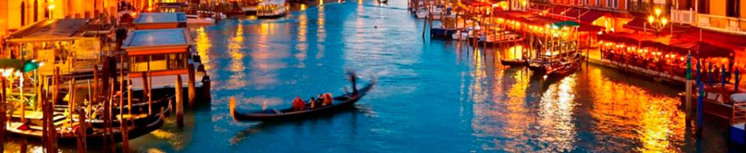 венеція-гондола-на-воді