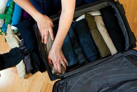 пакування валізи