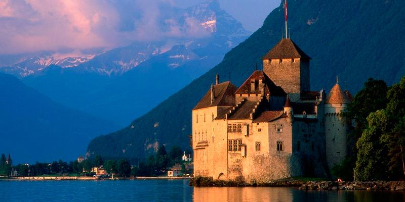 Шильонский замок Швейцарія