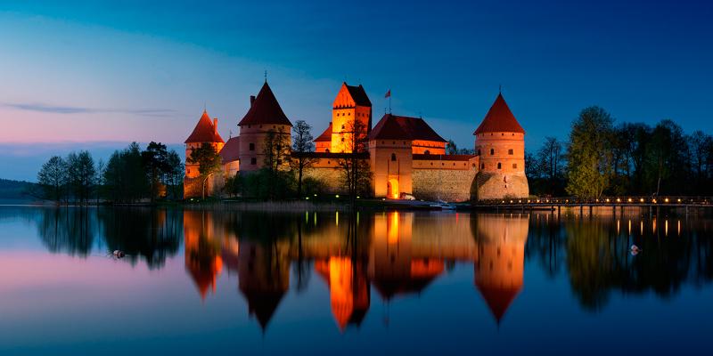 Тракайський замок Литва