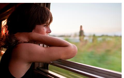 Вікно в автобусі