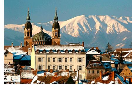 Замок зимою
