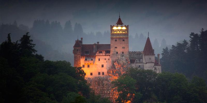 Замок Бран Румунія