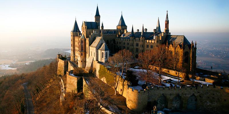 Замок Гогенцоллерн Німеччина